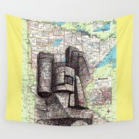 minnesota Wall Tapestries featuring Minnesota by Ursula Rodgers