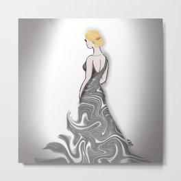 Metamorphasis dress Metal Print