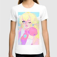 princess peach T-shirts featuring peach by flowersilk