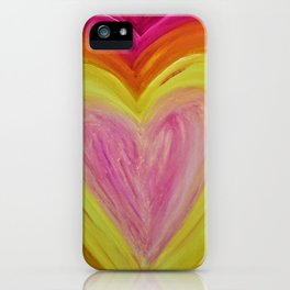 Light Filled Heart iPhone Case