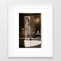 religion Framed Art Prints featuring RELIGION by Sébastien BOUVIER
