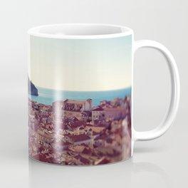 View over Dubrovnik Croatia Coffee Mug