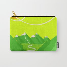 Minimalist Mountains Carry-All Pouch