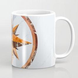 Wind rose ~ Inlaid marble Coffee Mug