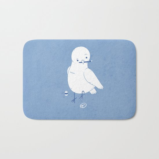 Peaceful painting Bath Mat