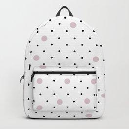Pin Points Polka Dot Pink Backpack