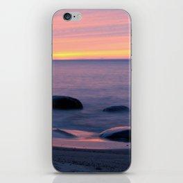 Lake Superior Sunset neat Ontonagon, Michigan iPhone Skin
