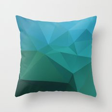 Abstract geometric art Throw Pillow
