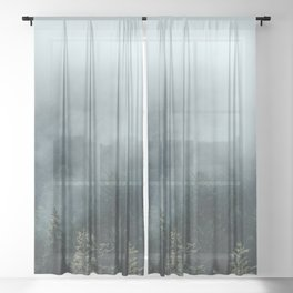 The Smell of Earth - Nature Photography Sheer Curtain