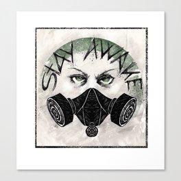 Insignia Resistencia Canvas Print