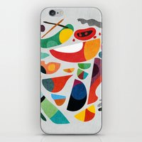 kitchen iPhone & iPod Skins featuring Still life from god's kitchen by Picomodi