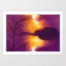 Colorbanks Art Print
