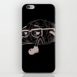 brain smoking iPhone Skin