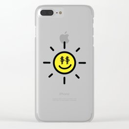 Dollar Sunshine Clear iPhone Case