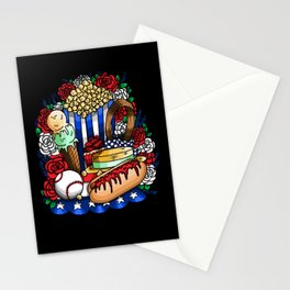 Main Street 4th of July Celebrations Stationery Cards
