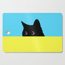 Kitty 2 Cutting Board