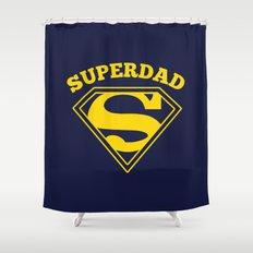 Superdad | Superhero Dad Gift Shower Curtain
