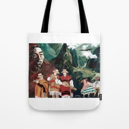 The ANDES             by Kay Lipton Tote Bag