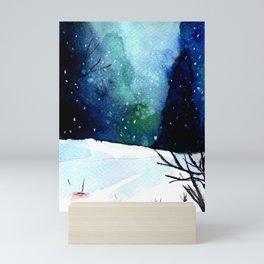 Winter Day Mini Art Print
