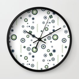 Julie pattern Wall Clock