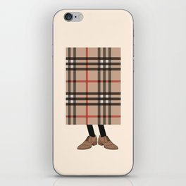 Check out Mr. Check iPhone Skin