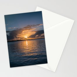 Sunset in Key Largo Stationery Cards