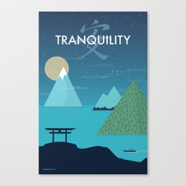 Tranquility (Night) Canvas Print