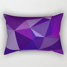 Geometric, polygonal Abstract background.  Rectangular Pillow