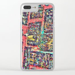 scratchy focus — queer art » strange experimental fantasy » trippy Clear iPhone Case