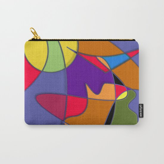 Abstract #34 Natalia Carry-All Pouch