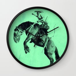 Vintage Prison Rodeo Wall Clock