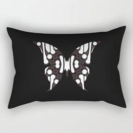 Batik Butterfly Rectangular Pillow
