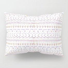 Sketchy Pattern in Sunrise Pillow Sham