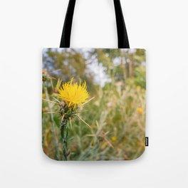 yellow starthistle Tote Bag