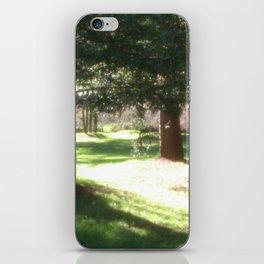 Tree and Sun  iPhone Skin
