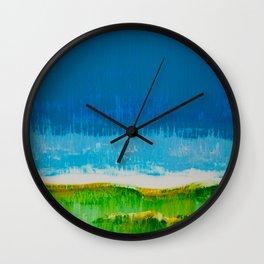 Pairie Morning Wall Clock