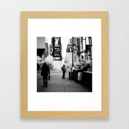 Amongst Us #2 Framed Art Print