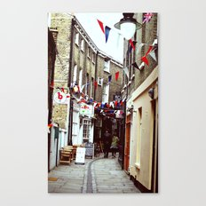 Flags in Greenwich Village Canvas Print