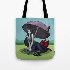 Marceline/Vampire time Tote Bag