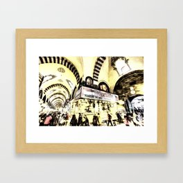 Spice Bazaar Istanbul Art Framed Art Print
