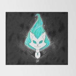 ScribbleNetty (Turquoise) Throw Blanket