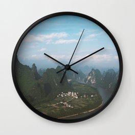 Li River Wall Clock