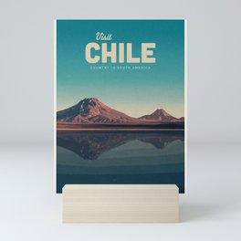 Visit Chile Mini Art Print