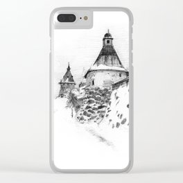 Solovki monastery SK03P Clear iPhone Case