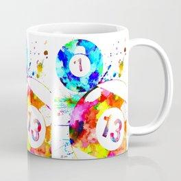 Billiard Balls Coffee Mug