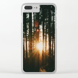 Into the Wild XXIV Clear iPhone Case