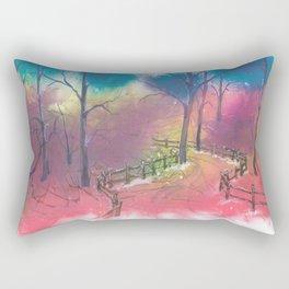 To Grandmother's House Rectangular Pillow