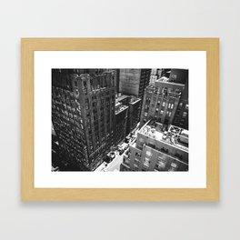 Vertigo, NYC.  Framed Art Print
