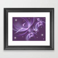 The stars Elves Framed Art Print