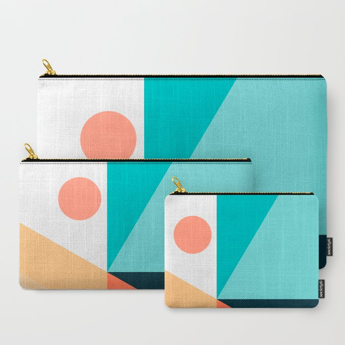 Geometric 1709 Carry-All Pouch